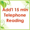 Telephone Reading (Add'l 15min)